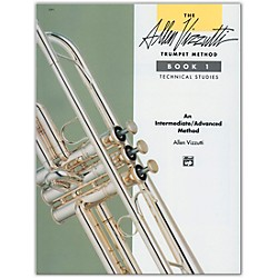 Alfred Allen Vizzutti Trumpet Method Book 1 Technical Studies (00-3391)