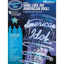 Alfred American Idol Presents: Sing Like an American Idol! DELUXE Men's Edition (Book/2 CD) (00-30078)