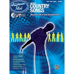Alfred American Idol Presents Country Songs Book and CD (00-27683)