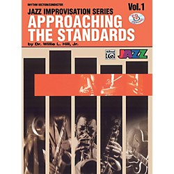 Alfred Approaching the Standards Volume 1 Rhythm Section / Conductor Book & CD (00-SBM00031CD)