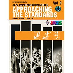 Alfred Approaching the Standards Volume 3 Rhythm Section / Conductor Book & CD (00-SBM00033CD)