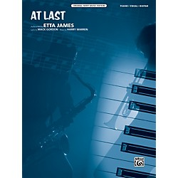 Alfred At Last Original Sheet Music Edition (00-39187)