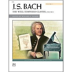 Alfred Bach The Well-Tempered Clavier Volume I Piano (00-2098C)