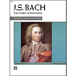 Alfred Bach Two-Part Inventions Intermediate/Late Intermediate  Piano (00-604)