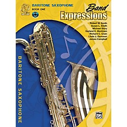 Alfred Band Expressions Book One Student Edition Baritone Saxophone Book & CD (00-MCB1010CDX)