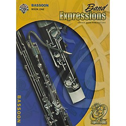 Alfred Band Expressions Book One Student Edition Bassoon Book & CD (00-MCB1007CDX)