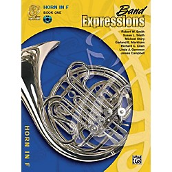Alfred Band Expressions Book One Student Edition Horn in F Book & CD (00-MCB1012CDX)