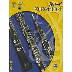 Alfred Band Expressions Book One Student Edition Oboe Book & CD (00-MCB1003CDX)