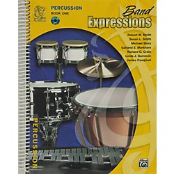Alfred Band Expressions Book One Student Edition Percussion Book & CD (00-MCB1016CDX)