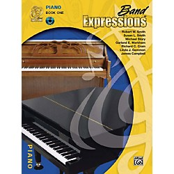 Alfred Band Expressions Book One Student Edition Piano Book & CD (00-MCB1017CDX)
