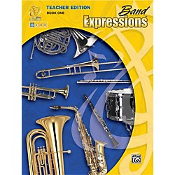Alfred Band Expressions Book One Teacher Edition Curriculum Package (00-EMCB1001X)