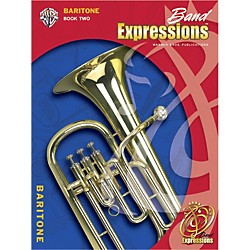 Alfred Band Expressions Book Two Student Edition Baritone B.C. Book & CD (00-EMCB2014CD)