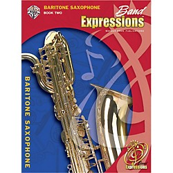 Alfred Band Expressions Book Two Student Edition Baritone Saxophone Book & CD (00-EMCB2010CD)