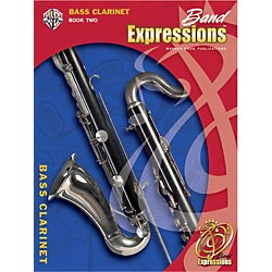Alfred Band Expressions Book Two Student Edition Bass Clarinet Book & CD (00-EMCB2006CD)