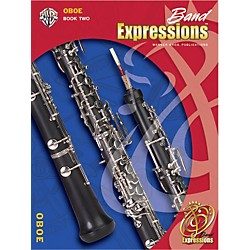 Alfred Band Expressions Book Two Student Edition Oboe Book & CD (00-EMCB2003CD)