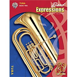 Alfred Band Expressions Book Two Student Edition Tuba Book & CD (00-EMCB2015CD)