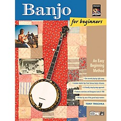 Alfred Banjo for Beginners Book & CD (00-19411)