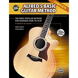 Alfred Basic Guitar Method Complete (Book/3 CDs) (00-28383)