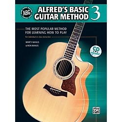 Alfred Basic Guitar Method Level 3 (Book) (00-33308)