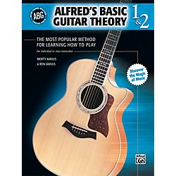 Alfred Basic Guitar Theory Volumes 1 and 2 (Book) (00-28387)