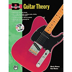 Alfred Basix Guitar Theory Book and CD (00-16762)
