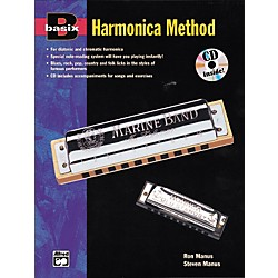 Alfred Basix Harmonica Method Book w/CD (00-16605)