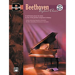 Alfred Basix Keyboard Classics: Beethoven (Book/CD) (00-19473)