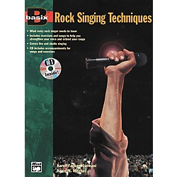 Alfred Basix Rock Singing Method Book/CD (00-14931)