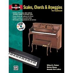 Alfred Basix Scales Chords & Arpeggios for Keyboard (Book/CD) (00-14916)