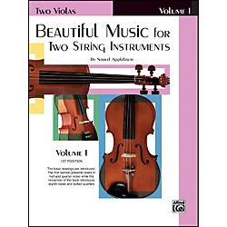 Alfred Beautiful Music for Two String Instruments Book I 2 Violas (00-EL02200)