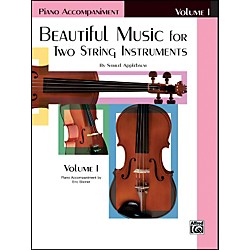 Alfred Beautiful Music for Two String Instruments Book I Piano Acc. (00-EL02199)