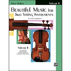 Alfred Beautiful Music for Two String Instruments Book II 2 Violas (00-EL02212)