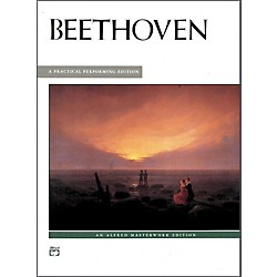 Alfred Beethoven 13 Most Popular Pieces Intermediate/Early Advanced Piano (00-390)