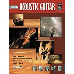 Alfred Beginning Acoustic Guitar (Book/CD) (00-19335)