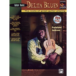 Alfred Beginning Delta Blues Guitar (Book/DVD) (00-21928)