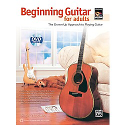 Alfred Beginning Guitar for Adults (Book & DVD) (00-40135)