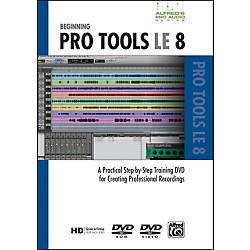 Alfred Beginning ProTools LE 8 (DVD) (00-33635)