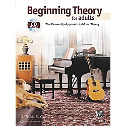 Alfred Beginning Theory for Adults Book & CD (00-40269)
