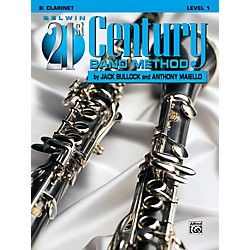 Alfred Belwin 21st Century Band Method Level 1 B-Flat Clarinet Book (00-B21104)