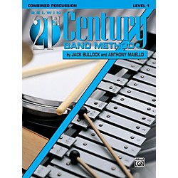 Alfred Belwin 21st Century Band Method Level 1 Combined Percussion Book (00-B21119)