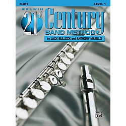Alfred Belwin 21st Century Band Method Level 1 Flute Book (00-B21101)