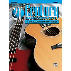 Alfred Belwin 21st Century Band Method Level 1 Guitar Book (00-B21118)