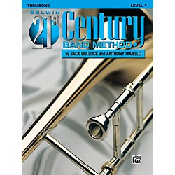 Alfred Belwin 21st Century Band Method Level 1 Trombone Book (00-B21111)