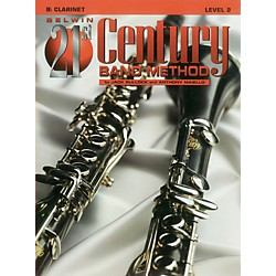 Alfred Belwin 21st Century Band Method Level 2 B-Flat Clarinet Book (00-B21204)