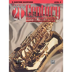 Alfred Belwin 21st Century Band Method Level 2 Bari Sax Book (00-B21208)