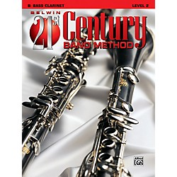 Alfred Belwin 21st Century Band Method Level 2 Bass Clarinet Book (00-B21205)