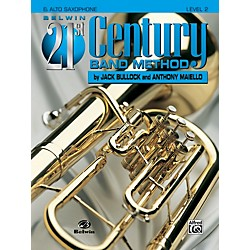 Alfred Belwin 21st Century Band Method Level 2 E-Flat Alto Saxophone Book (00-B21206)