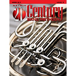 Alfred Belwin 21st Century Band Method Level 2 French Horn Book (00-B21210)