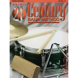 Alfred Belwin 21st Century Band Method Level 2 Percussion Book (00-B21216)