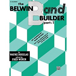 Alfred Belwin Band Builder Part 1 B-Flat Clarinet (00-EL00593)